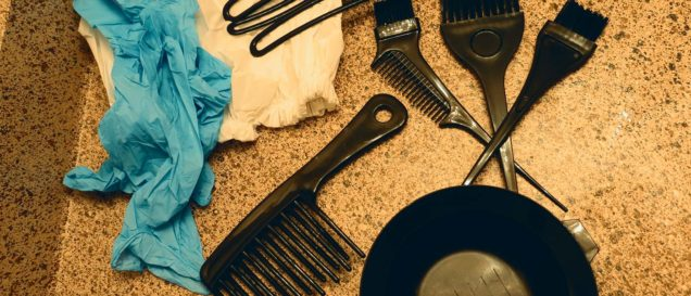 Инструменты для окрашивания волос в домашних условиях